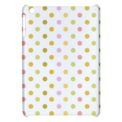 Polka Dots Retro Apple Ipad Mini Hardshell Case