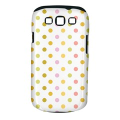 Polka Dots Retro Samsung Galaxy S Iii Classic Hardshell Case (pc+silicone)