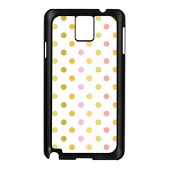 Polka Dots Retro Samsung Galaxy Note 3 N9005 Case (black)