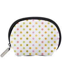 Polka Dots Retro Accessory Pouches (small)