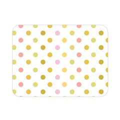 Polka Dots Retro Double Sided Flano Blanket (Mini)