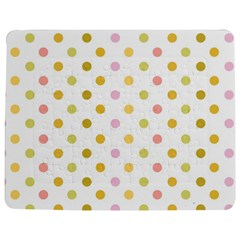 Polka Dots Retro Jigsaw Puzzle Photo Stand (Rectangular)
