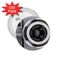 Vintage Camera 2.25  Buttons (100 pack)