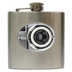 Vintage Camera Hip Flask (6 oz)