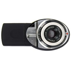 Vintage Camera USB Flash Drive Oval (4 GB)