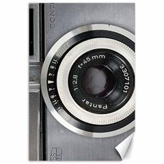 Vintage Camera Canvas 24  x 36