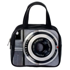 Vintage Camera Classic Handbags (One Side)