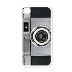 Vintage Camera Apple iPhone 4 Case (White)