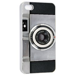 Vintage Camera Apple Iphone 4/4s Seamless Case (white)