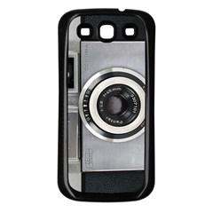 Vintage Camera Samsung Galaxy S3 Back Case (Black)