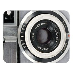 Vintage Camera Double Sided Flano Blanket (Large)