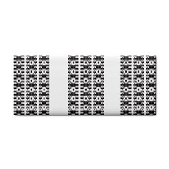 Pattern Background Texture Black Cosmetic Storage Cases
