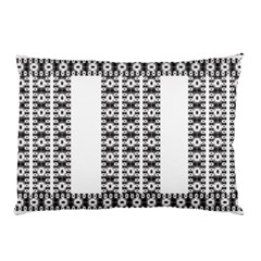Pattern Background Texture Black Pillow Case