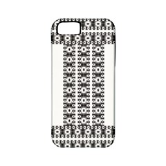 Pattern Background Texture Black Apple iPhone 5 Classic Hardshell Case (PC+Silicone)