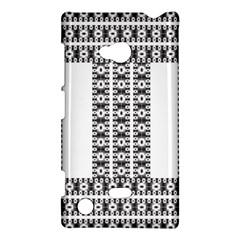 Pattern Background Texture Black Nokia Lumia 720