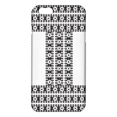 Pattern Background Texture Black Iphone 6 Plus/6s Plus Tpu Case