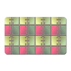 Seamless Pattern Seamless Design Magnet (Rectangular)