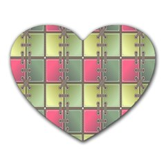 Seamless Pattern Seamless Design Heart Mousepads