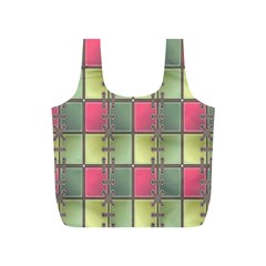 Seamless Pattern Seamless Design Full Print Recycle Bags (s)