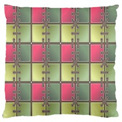 Seamless Pattern Seamless Design Standard Flano Cushion Case (Two Sides)