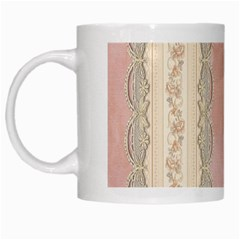 Guestbook Background Victorian White Mugs