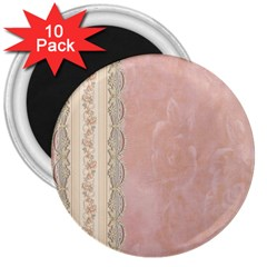 Guestbook Background Victorian 3  Magnets (10 pack)