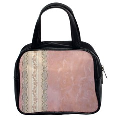 Guestbook Background Victorian Classic Handbags (2 Sides)