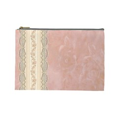 Guestbook Background Victorian Cosmetic Bag (Large)