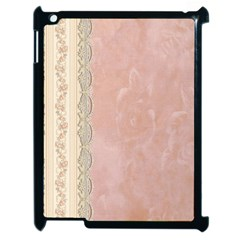 Guestbook Background Victorian Apple iPad 2 Case (Black)