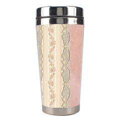 Guestbook Background Victorian Stainless Steel Travel Tumblers