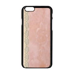 Guestbook Background Victorian Apple iPhone 6/6S Black Enamel Case
