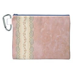 Guestbook Background Victorian Canvas Cosmetic Bag (xxl)