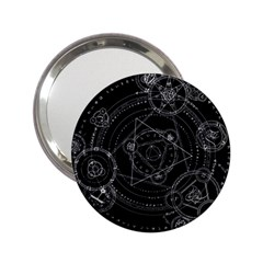 Formal Magic Circle 2 25  Handbag Mirrors