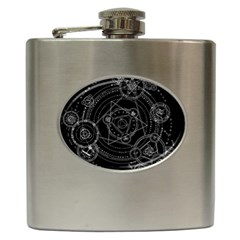 Formal Magic Circle Hip Flask (6 oz)