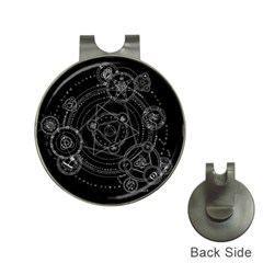 Formal Magic Circle Hat Clips with Golf Markers