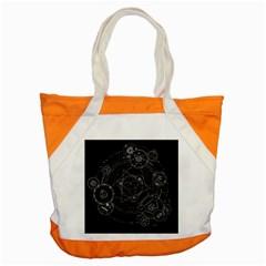Formal Magic Circle Accent Tote Bag