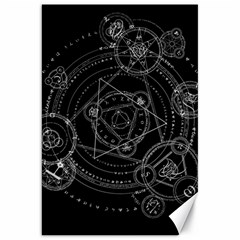 Formal Magic Circle Canvas 20  X 30