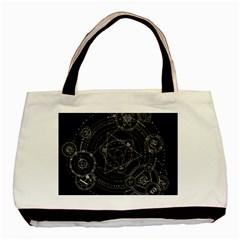 Formal Magic Circle Basic Tote Bag (Two Sides)