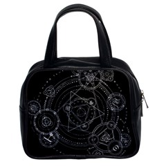 Formal Magic Circle Classic Handbags (2 Sides)