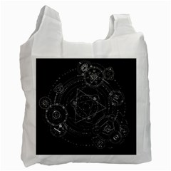 Formal Magic Circle Recycle Bag (Two Side)
