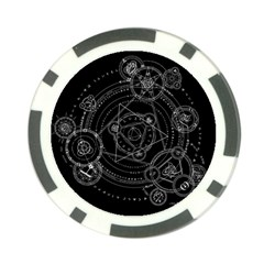 Formal Magic Circle Poker Chip Card Guard (10 pack)