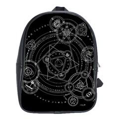 Formal Magic Circle School Bags(Large)