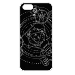 Formal Magic Circle Apple iPhone 5 Seamless Case (White)