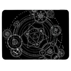 Formal Magic Circle Samsung Galaxy Tab 7  P1000 Flip Case