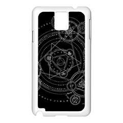 Formal Magic Circle Samsung Galaxy Note 3 N9005 Case (white)