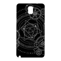 Formal Magic Circle Samsung Galaxy Note 3 N9005 Hardshell Back Case