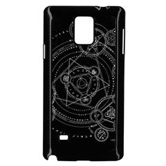 Formal Magic Circle Samsung Galaxy Note 4 Case (Black)
