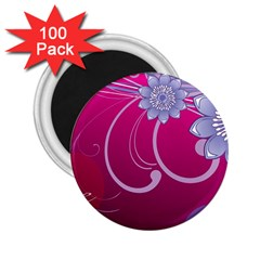 Love Flowers 2.25  Magnets (100 pack)