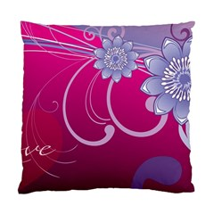 Love Flowers Standard Cushion Case (Two Sides)