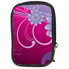 Love Flowers Compact Camera Cases